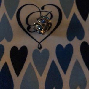 Brighton blue crystal charm